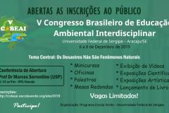 ABERTAS AS INSCRIÇÕES AO PÚBLICO PARA O V COBEAI 2019