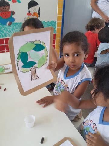 Atividades de Arte Ambiental. Escola Manoel Marques de Sousa. Juazeiro-BA. 23-09-2016