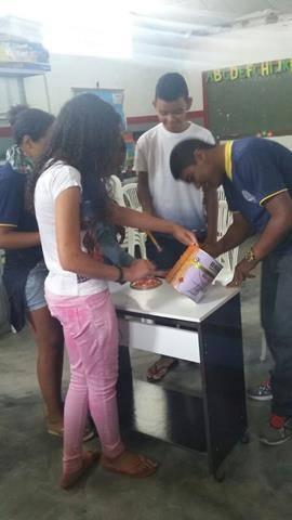 Atividades de Arte Ambiental. Escola Dr José Gonçalves. Senhor do Bonfim-BA. 06-09-2016