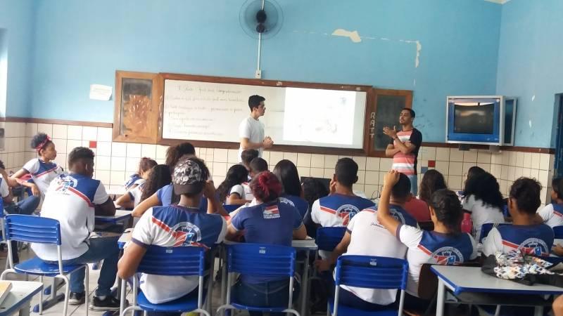 Atividades de Energias Renováveis. Escola Rui Barbosa. Juazeiro-BA. 21/03/2019.