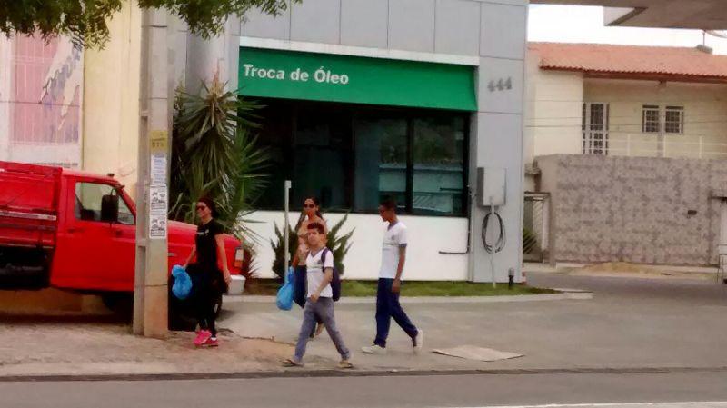 Intervenção de coleta seletiva - CEJA João Barracão - Petrolina-PE - 11.10.15