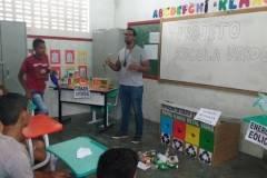 Ações de educação ambiental mobilizam alunos e professores
