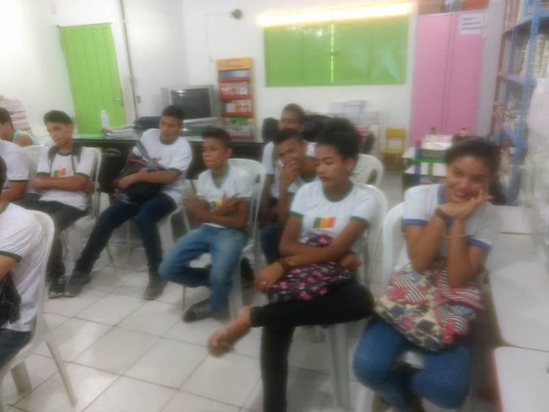 Atividades de Saúde Ambiental. Escola Jacob Ferreira. Petrolina-PE. 06/04/2017.