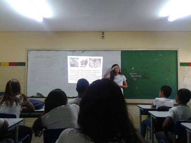 Saúde Ambiental Plantas Medicinais. Escola Paes Barreto. Petrolina-PE. 27-04-2016