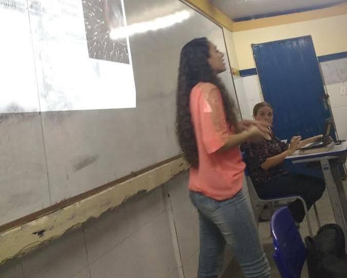 Atividades de Saúde Ambiental. Escola Joaquim André. Petrolina-PE. 03/05/2017.