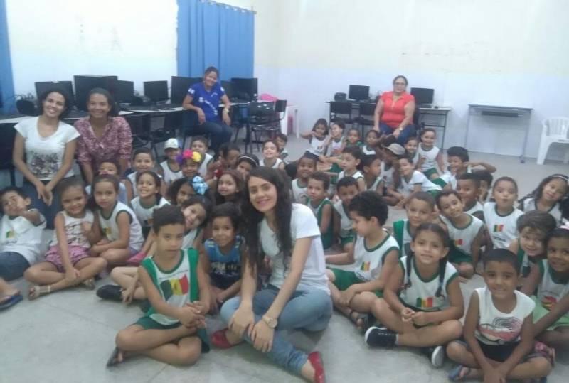 Atividades de Saúde Ambiental. Escola Maroquinha. Petrolina-PE. 27/04/2017.