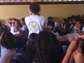 Atividades de Promoção da Coleta Seletivai. Escola Joaquim André Cavalcanti. Petrolina-PE. 01/09/17.