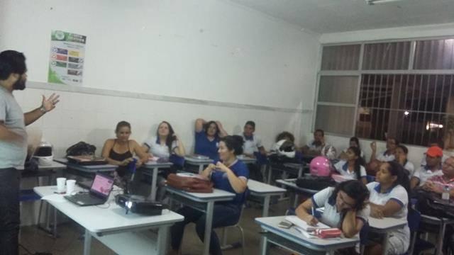 Redescobrindo a Caatinga. Centro Territorial de Educação Profissional (CETEP). Juazeiro-BA. 19-05-2016