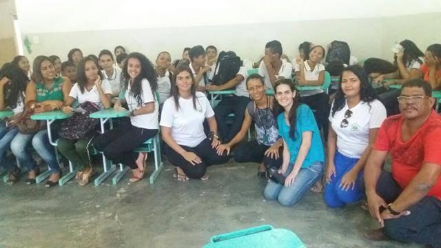 Redescobrindo a Caatinga. Escola 24 de Fevereiro. Sobradinho-BA. 12-05-2016