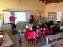 Adesivagem de Escola sobre práticas socioambientais