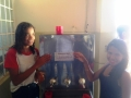 Adesivagem de Escola sobre práticas socioambientais. Juazeiro, BA (06/11).