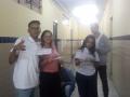 Atividade de adesivagem. Escola Dom Malan. Petrolina-PE. 27/05/19.