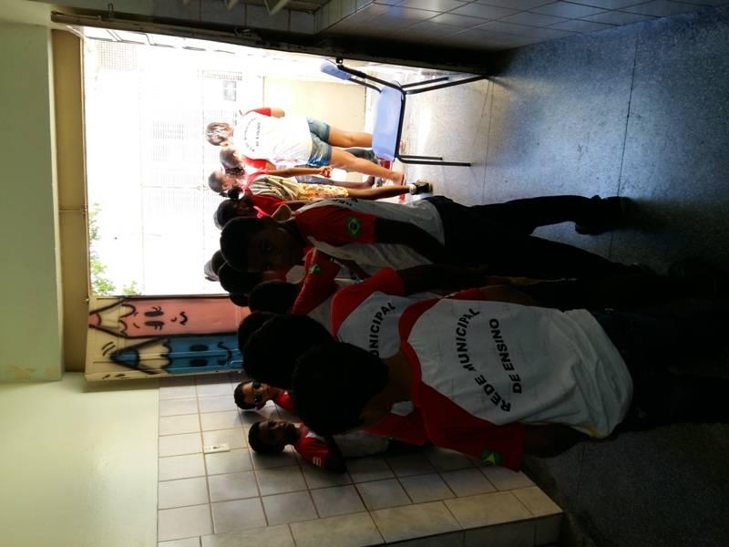 Visita técnica ao CEMAFAUNA - Escola Nossa Senhora das Grotas - Juazeiro-BA - 18.11.15