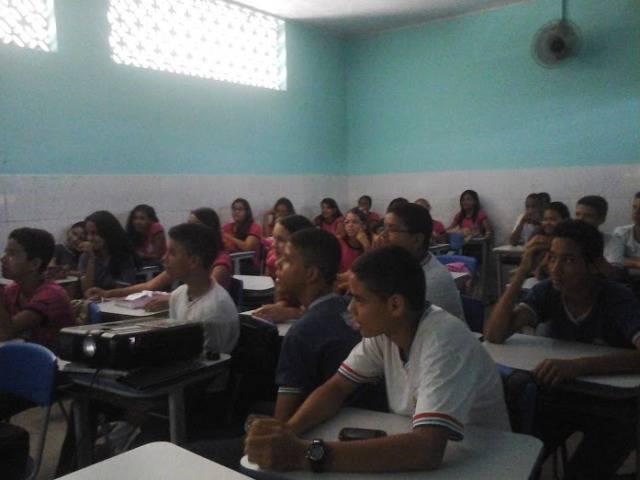 Atividade de ambientalização - Colégio Lomanto Júnior - Juazeiro-BA - 18.02.16