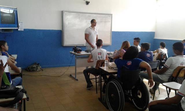 Atividades de Ambientalização. Escola Helena Celestino. Joazeiro-BA. 02-10-2016