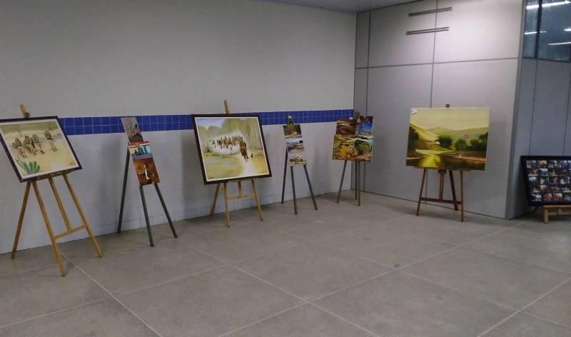 Apresentação do PEV. I Cores, Letras, Artes e Educação (COLAÊ). Univasf/UNEB. Senhor do Bonfim-BA. 26 a 28 de Abril de 2017.