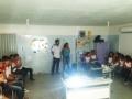 Apresentação do PEV em Feira de Ciências. Juazeiro, BA (8/11).