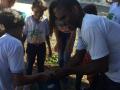 Atividade Arborização. Escola Municipal Professora Zélia Matias. Petrolina-PE. 14/03/2020.