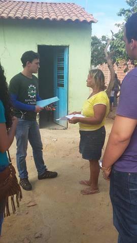 Atividades de Arborização - Vizinhança Arborizada. EMEI Dilma Calmon. Juazeiro-BA. 03-06-20
