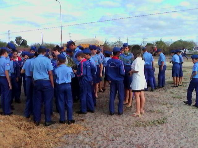Atividades de Arborização. Colégio da Polícia Militar (CPM). Petrolina-PE. 12-05-2016