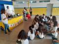 Oficina com a temática flora da caatinga na Escola EREM Osa Santana em Petrolina (PE), no dia 26-08.