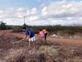 Atividade Arborização. Agrovila 25. Santa Maria da Boa Vista-PE. 08/09/2019.