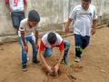 Atividade Arborização. Escola Eliacim Mauriz e Escola Joaquim Horácio de Ribeiro. São Raimundo Nonato-PI. 10/05/2019-11/05/2019