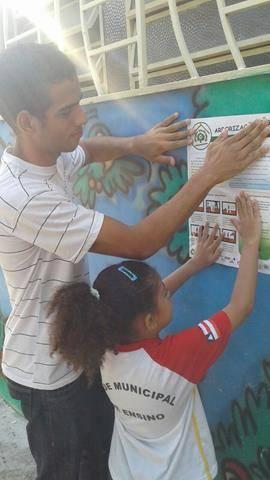 Atividades de arborização. Escola Nossa Senhora Rainha das Grotas. Juazeiro-BA. 01-04-2016 (24)
