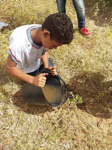 Atividades de arborização. Escola Nossa Senhora Rainha das Grotas. Juazeiro-BA. 01-04-2016 (7)