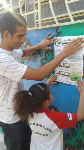 Atividades de arborização. Escola Nossa Senhora Rainha das Grotas. Juazeiro-BA. 01-04-2016 (8)