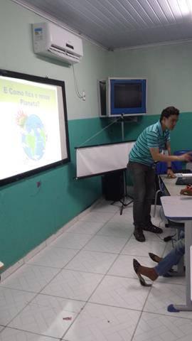 Atividades de Arborização. Escola Pedro Raimundo Rego. Juazeiro-BA. 26-10-2016