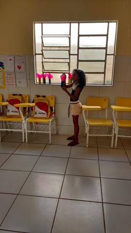 Arte Ambiental - Reciclagem. Escola Joca de Souza. Juazeiro-BA. 20-05-2016
