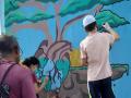 Arte Ambiental. Pier de Juazeiro (BA). Novembro de 2020.