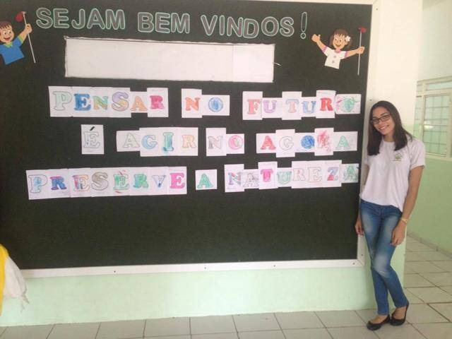 Atividades de Arte Ambiental. Creche-escola Nova Semente. Petrolina-PE. 04-11-2016