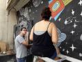 Atividade Arte Ambiental. Área Urbana de Juazeiro-BA. 15/10 e 22/10/2019.