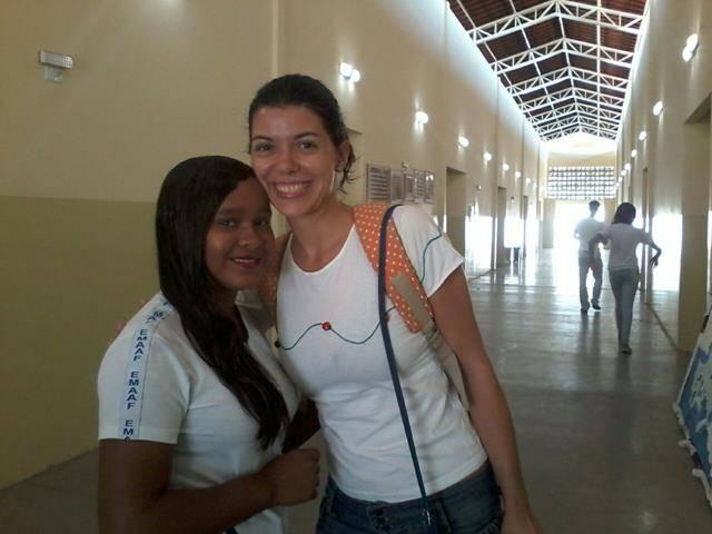 Atividades de arte ambiental - Reciclagem. Escola Marechal Antonio Alves Filho. Petrolina-PE. 10-06-2016