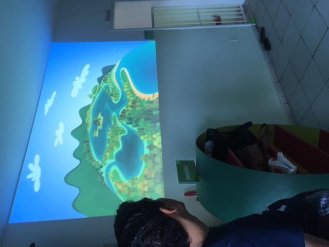 Atividades de arte ambiental - Atividades lúdicas. Unidade de Acolhimento Marcelo Brito. Petrolina-PE. 22-06-2016