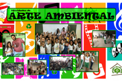 Arte Ambiental movimenta escolas