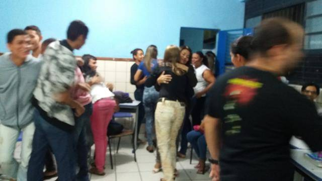 Relações Sociais no Meio Ambiente. EJA do Colégio Rui Barbosa. 26-08-2016