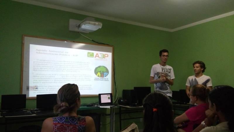Atividade de ambientalização - Escola Municipal 21 de Setembro - Petrolina-PE - 28.08.15