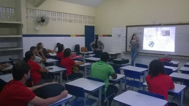 Atividade de ambientalização - Escola Professor Simão Amorim Durando - Petrolina-PE - 20.08.15