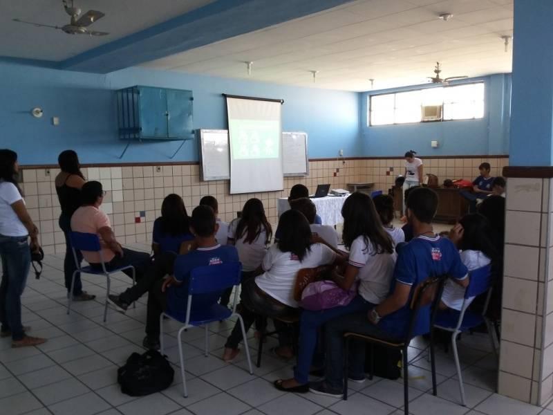 Atividade sobre fontes renováveis - Colégio Estadual Rui Barbosa - Juazeiro-BA - 03.09.15