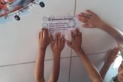 Atividade de ambientalização e sensibilização mobilizam escolas