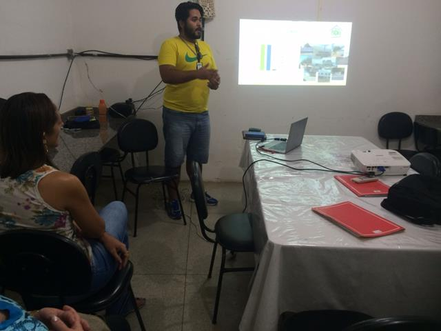 Atividades de Ambientalização. Escola Jacob Ferreira. Petrolina-PE. 29-04-2016