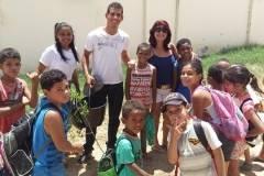 Atividades de Arborização de escolas
