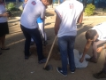 Atividade de arborização - Escola Lomanto Júnior - Juazeiro-BA - 06.08.15