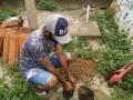 Atividade Arborização. Projeto de Irrigação Senador Nilo Coelho C1. Petrolina-PE. 31/01/2020.