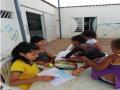 """Atividade Arte Ambiental.  ONG """"Casa Sementes do Amanhã"""". Juazeiro-BA. 29/07/08-02/08/2019"""