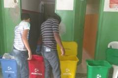 Atividades de Coleta Seletiva movimenta escola em Senhor do Bonfim