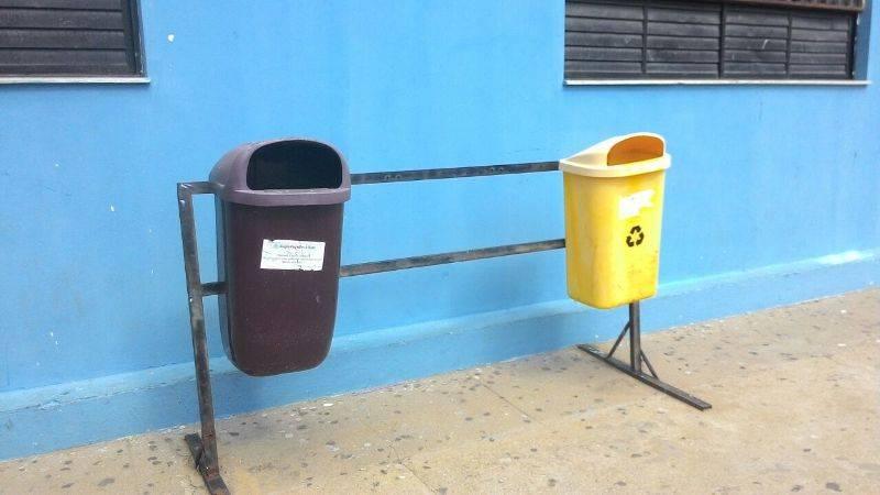 Atividade sobre coleta seletiva - Colégio Estadual Rui Barbosa - Juazeiro-BA - 12.11.15
